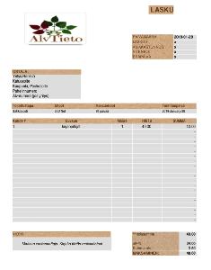 Laskumalleja - Excel 97/2000/XP-version