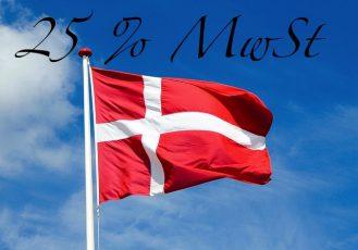 Dänemark Mehrwertsteuersatz